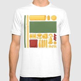 Pasta Mondrian T-shirt