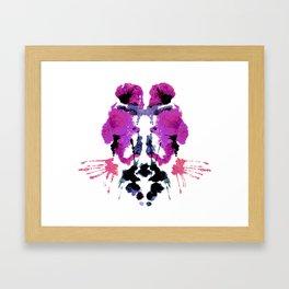 Violent Violet Framed Art Print