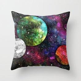 A Galaxy Far Away Throw Pillow