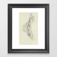 The Fertile Land in One's Imagination Framed Art Print