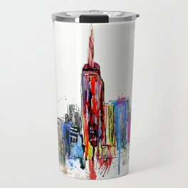 new york inked  Travel Mug