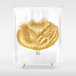 Poofy Flounciss Shower Curtain