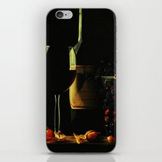 Still Life With Wine iPhone & iPod Skin