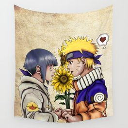 Naruto and Hinata Wall Tapestry
