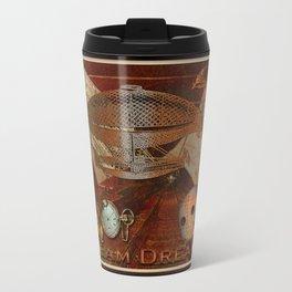 Steam Dreams - Steampunk Theme Travel Mug