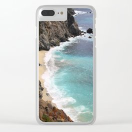 Get Lost in the Tides Clear iPhone Case