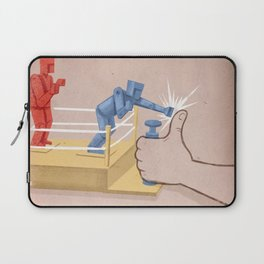 The Real Enemy Laptop Sleeve