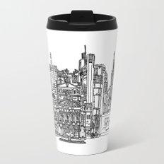 Busy City – Frankfurt am Main Metal Travel Mug