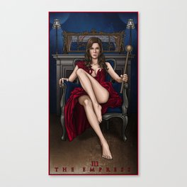 III. The Empress Canvas Print