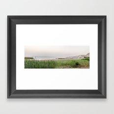 Kineret Framed Art Print