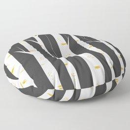 Birch forest Floor Pillow