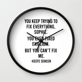 You keep trying to fix Wall Clock