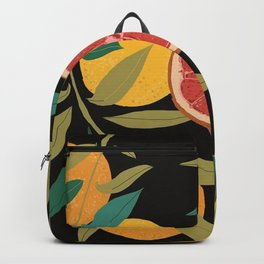 Black Grapefruit Backpack