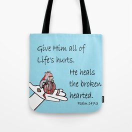 Healer of Hearts Tote Bag