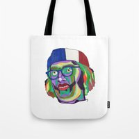 america Tote Bags featuring America by Masonjohnson