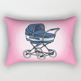 Bay stroller / buggy Rectangular Pillow