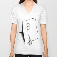 creativity V-neck T-shirts featuring Creativity by ShaylahLeigh