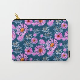 Poetic Mums Carry-All Pouch