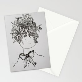 Christmas over me Stationery Cards