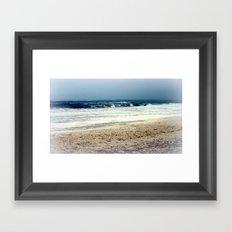 Sea Foam #3 Framed Art Print
