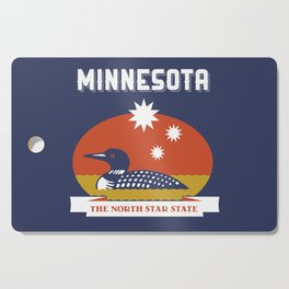 Minnesota - Redesigning The States Series Cutting Board