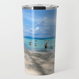 Bamboo Island, Phi Phi Islands, Thailand Travel Mug