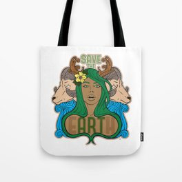 Save the eARTh (Mother Nature) Tote Bag