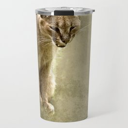 Caracal- wild cat Travel Mug