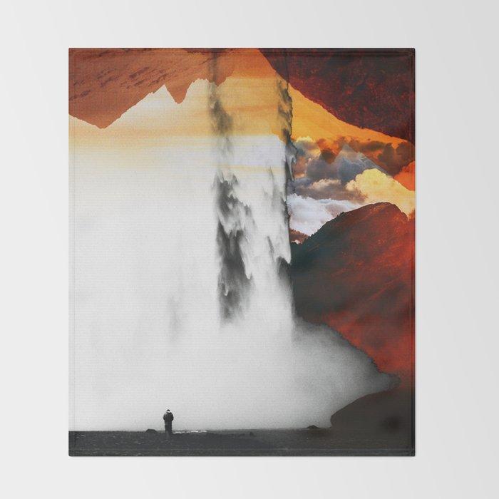 Isolation Waterfall Throw Blanket