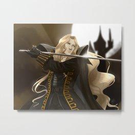 Alucard with sword Metal Print