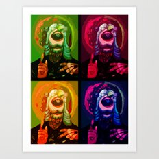 Cyclops JJJJesus Art Print