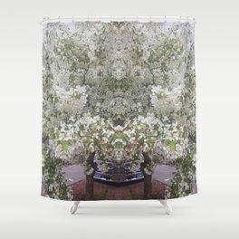 Flower Guardian Shower Curtain