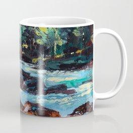 Toby Waters creek painting by Dennis Weber / ShreddyStudio Coffee Mug