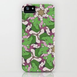 Do Look Back Tessellation iPhone Case