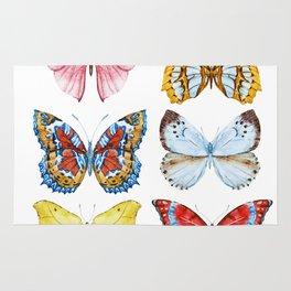 Butterflies 01 Rug