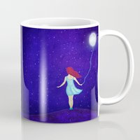 redhead Mugs featuring redhead by Nancy Woland