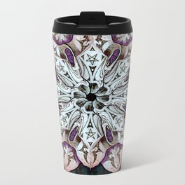 badger mandala Metal Travel Mug
