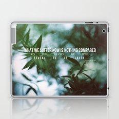 Romans 8:18 Laptop & iPad Skin