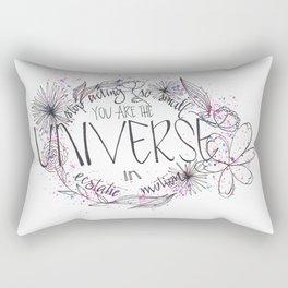 Universe in ecstatic motion Rectangular Pillow