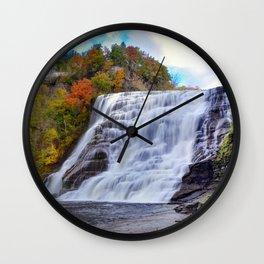 Ithaca Falls Wall Clock