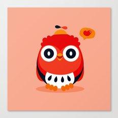 Owlet Canvas Print