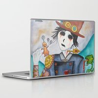 steampunk Laptop & iPad Skins featuring Steampunk by Lynne Gryphon