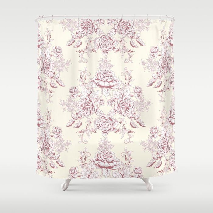 French Shower Curtain By Healinglove8