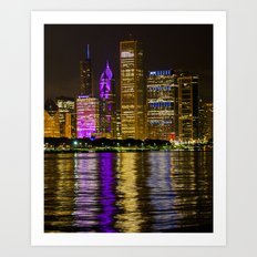 Colors Of Chicago Art Print