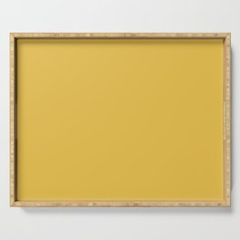 Mustard Yellow  Solid Colour Serving Tray