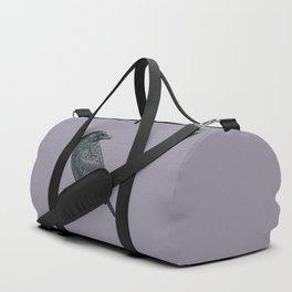 Celtic Raven Duffle Bag