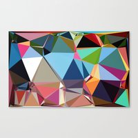 forever young Canvas Prints featuring Forever Young by contemporary