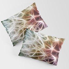 Fractal dandelion Pillow Sham