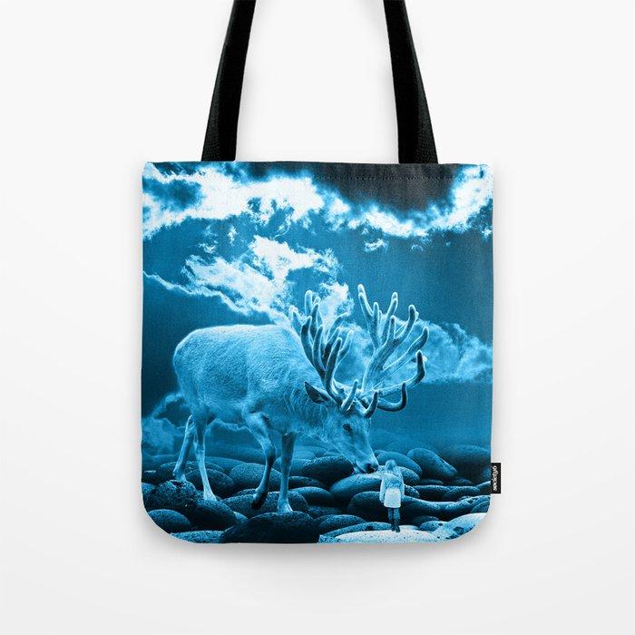 Big Deer Tote Bag
