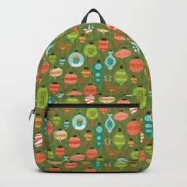Mid Century Ornaments - Traditional Backpack